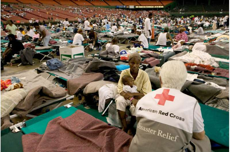 Lessons from Katrina on how pandemic may affect kids