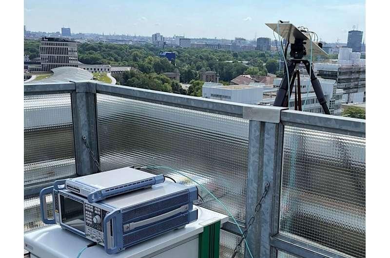 LG établit un nouveau record de transmission de données 6G à 100 mètres