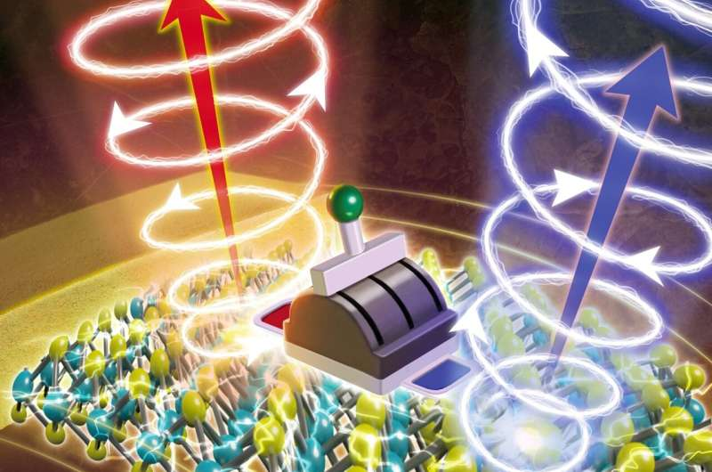 Light does the twist for quantum computing
