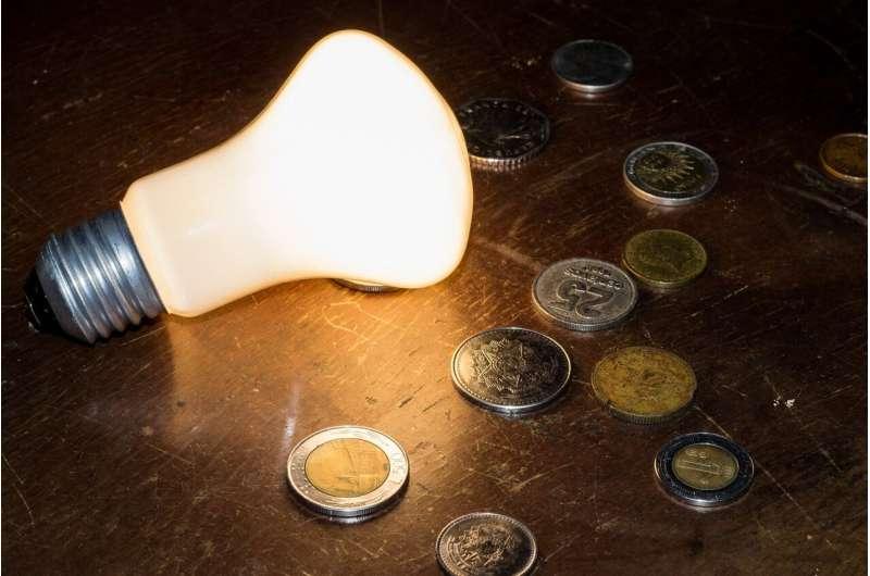 lightbulb money
