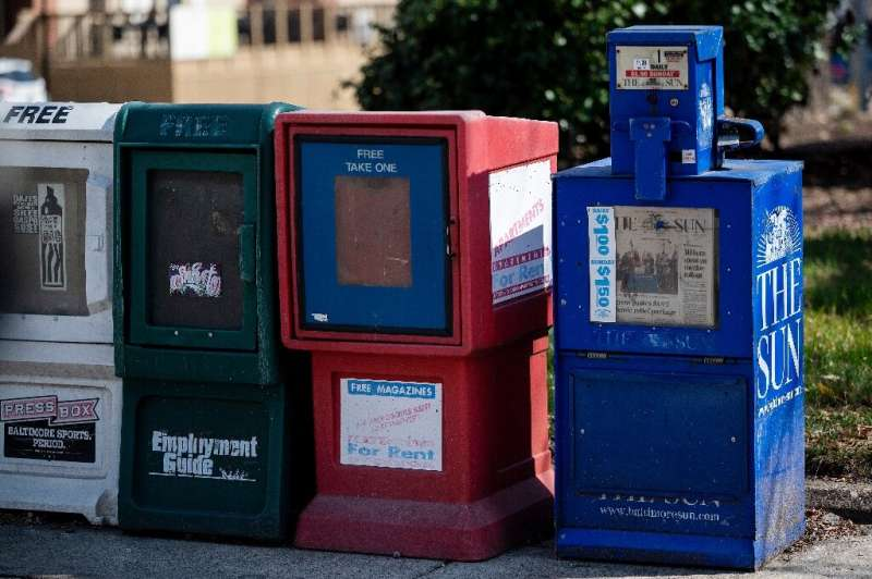 Like other daily newspapers, the Baltimore Sun has seen shrinking revenue and print circulation as more people turn to digital n