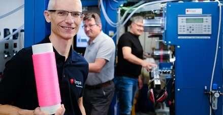 Liquid core fibers: A data river runs through it
