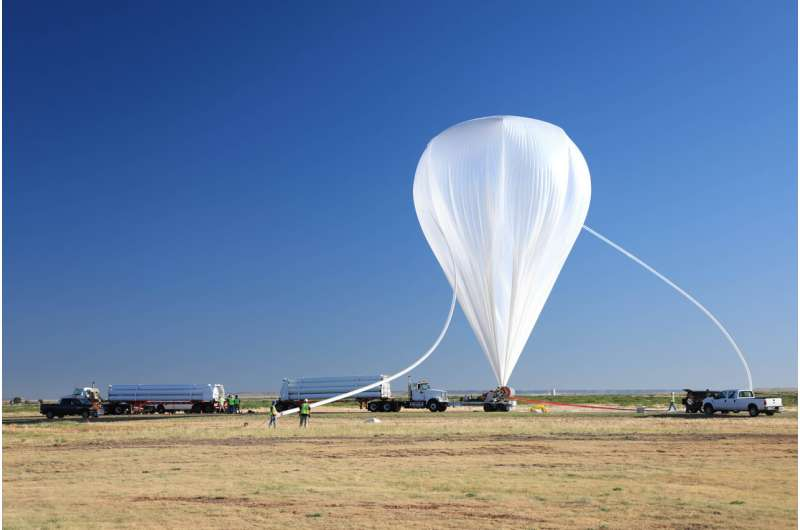 Lofted by NASA balloons, new experiments will study sun-Earth system