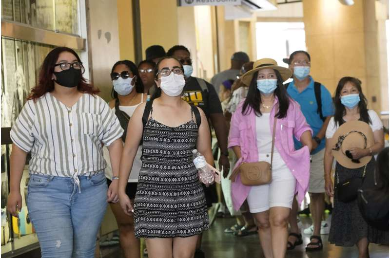 Los Angeles hopes new mask mandate will reverse virus spike