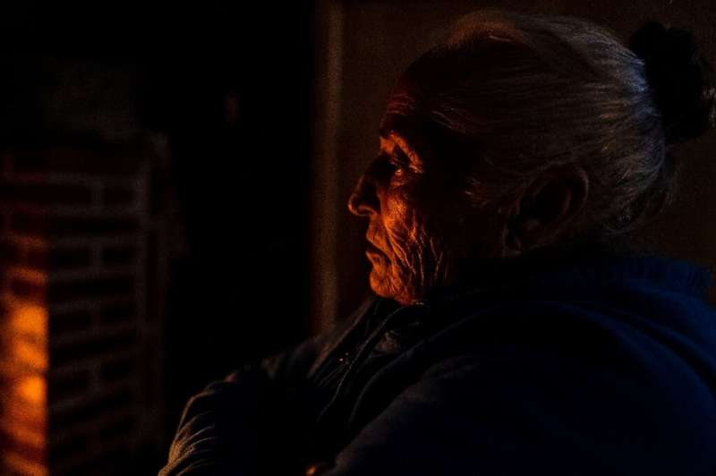Ludivina Herrera, 70, is one of those having to endure sub-zero temperatures without electricity