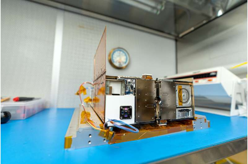 Lunar IceCube passes critical testing at NASA's Goddard Space Flight Center