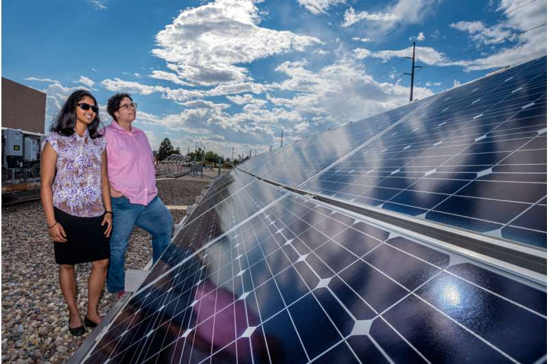 Machine learning identifies hidden factors that affect solar farms during severe weather