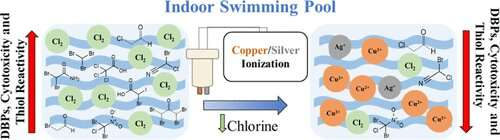 Making swimming pools safer by reducing chlorine disinfection byproducts