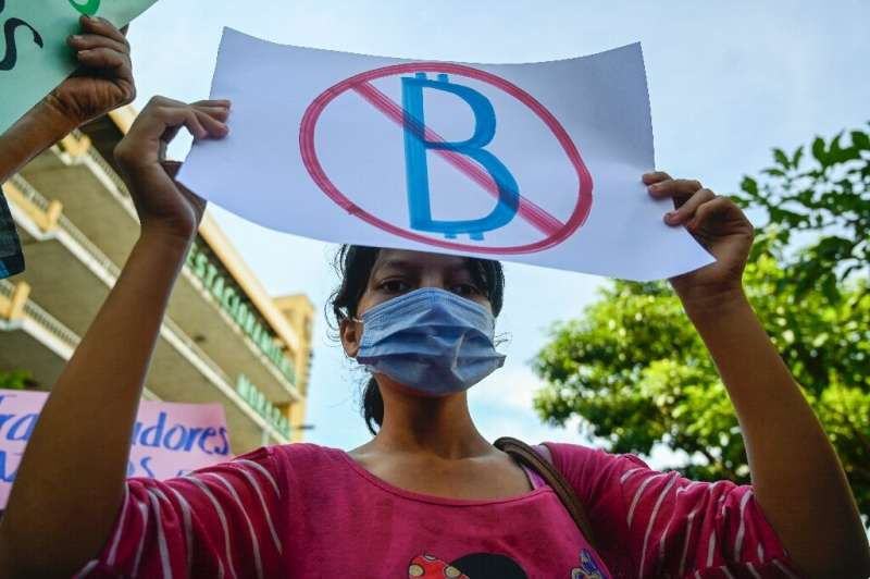 Many Salvadorans opposed the introduction of bitcoin as legal tender