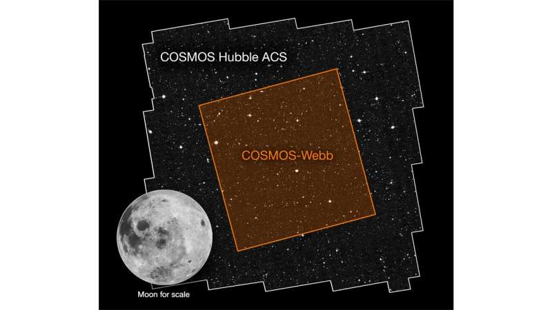 Mapping the universe's earliest structures with COSMOS-webb