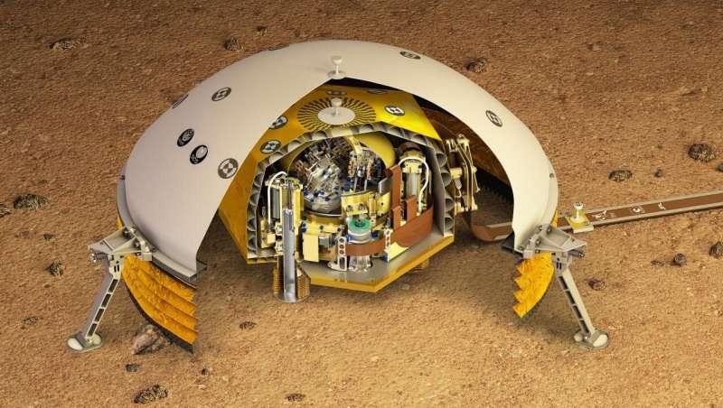 Mars: Scientists determine crustal thickness