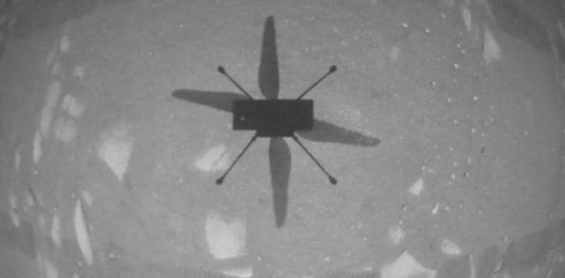 Mars: how Ingenuity helicopter made the first flight on another planet