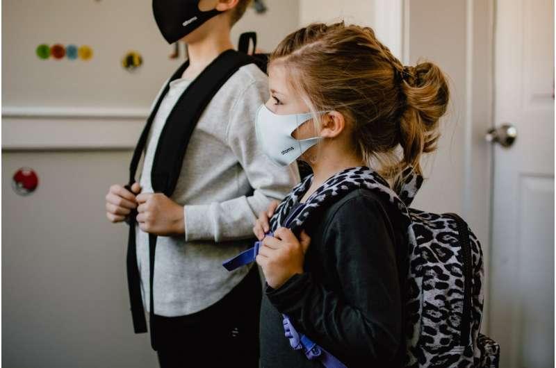 mask school