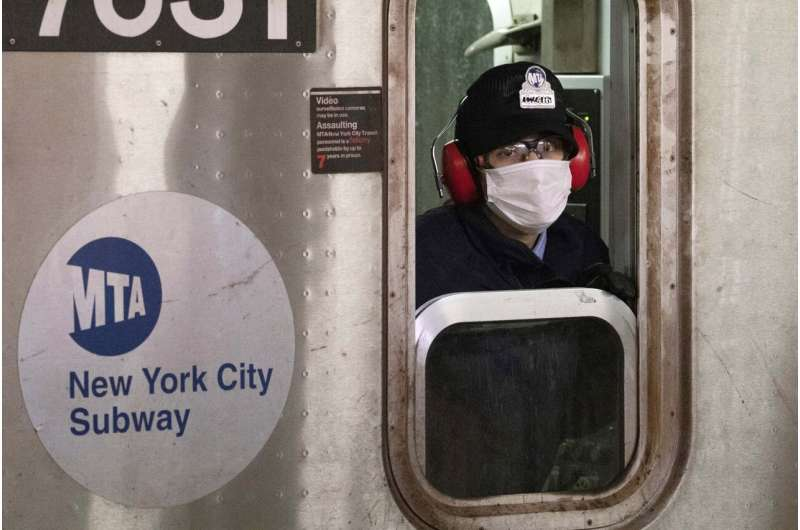 Masks encouraged in New York, but no city or state mandate