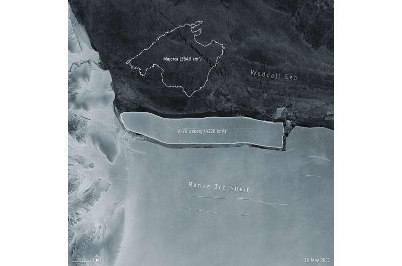 Meet the world's largest iceberg