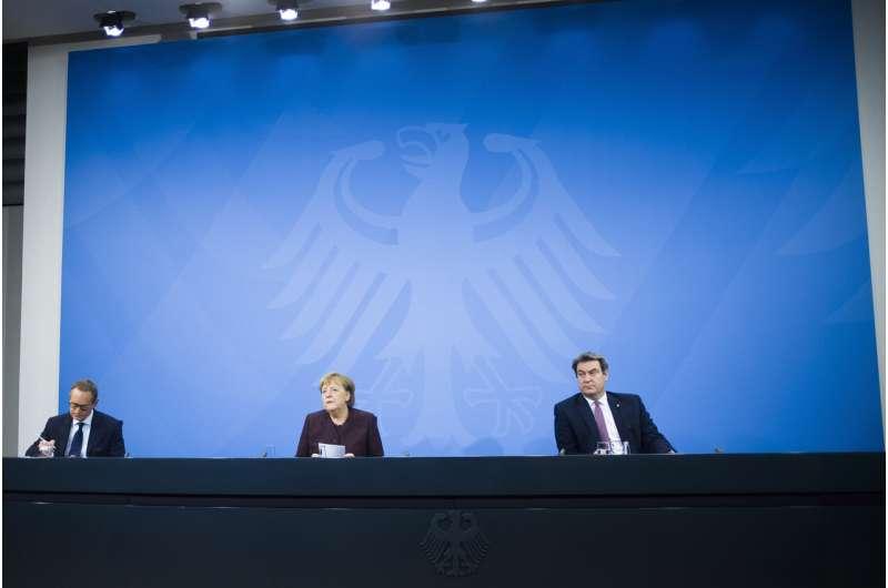 Merkel, governors agree to extend Germany's virus lockdown