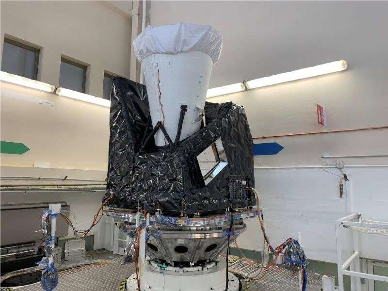 Meteosat Third Generation takes major step towards its first launch