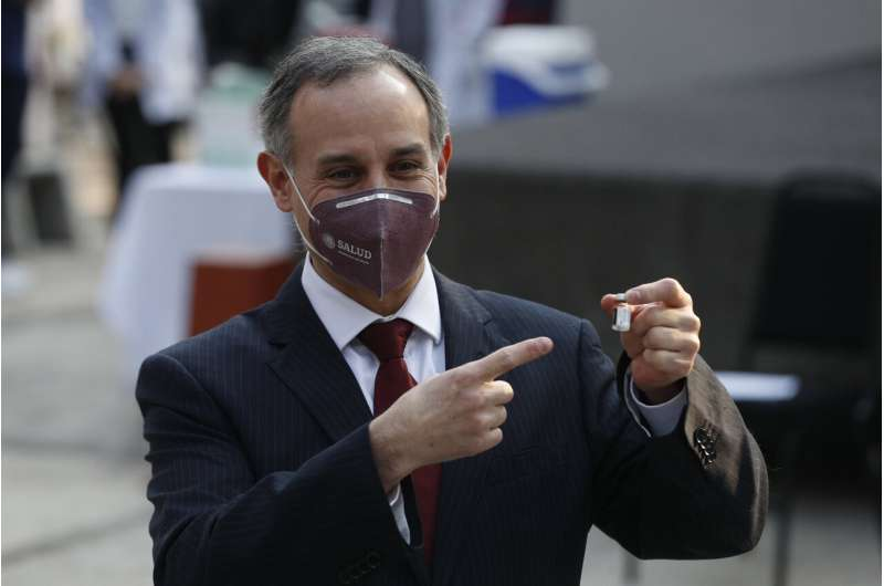 Mexico approves AstraZeneca vaccine for emergency use