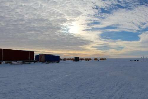 Microbes feast on crushed rock in subglacial lakes beneath Antarctica