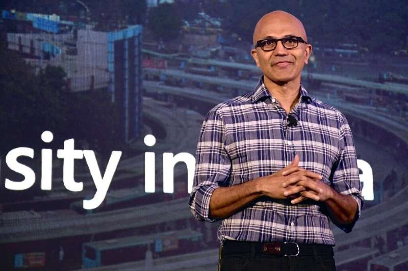 Microsoft Corporation Chief Executive Officer Satya Nadella said the Nuance acquisition positions the tech giant for growth in t