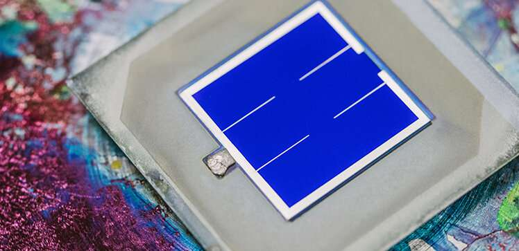 Minding the gaps to boost perovskite performance