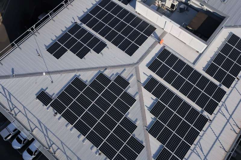 Mixing it up: A low-cost way to make efficient, stable perovskite solar cells at commercial scale