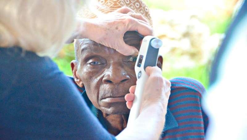 Mobile screening app triples eye care uptake