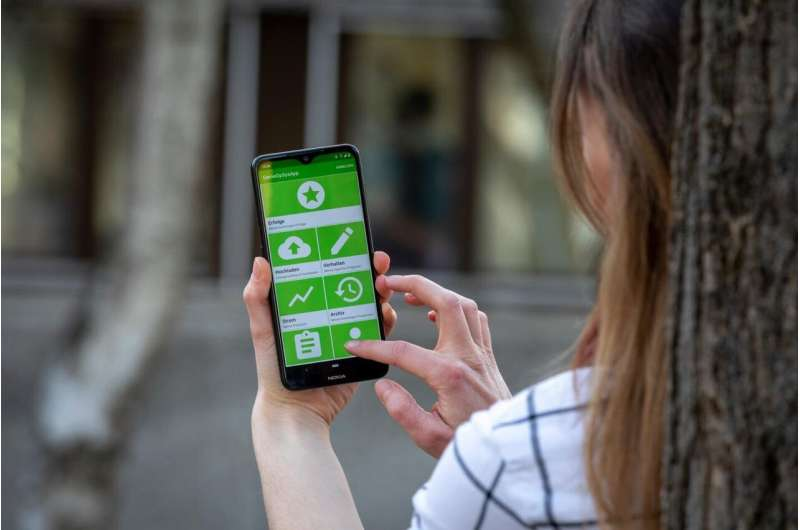 Mobile app generates data for the energy management of the future