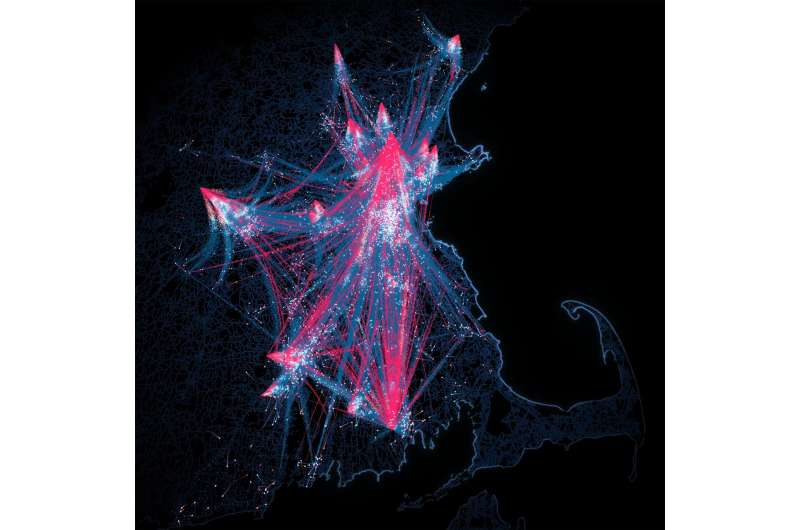 Mobility data reveals universal law of visitation in cities