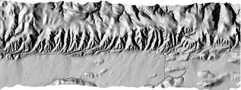 Model predicts when rivers that cross faults will change course