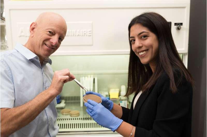 Molecular tweezers that attack antibiotic resistant bacteria developed by Ben-Gurion U.