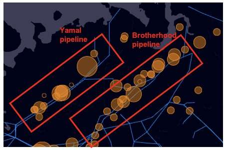 Monitoring methane emissions from gas pipelines