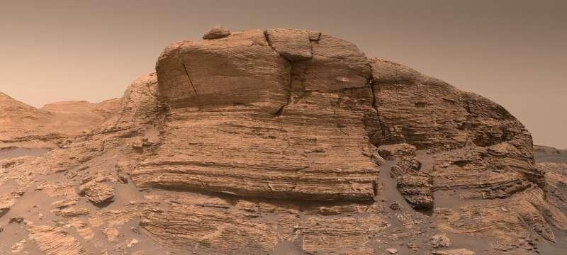 Mont Mercou on Mars