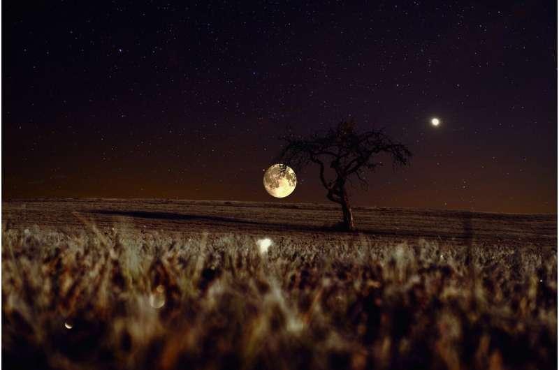 campo de la luna