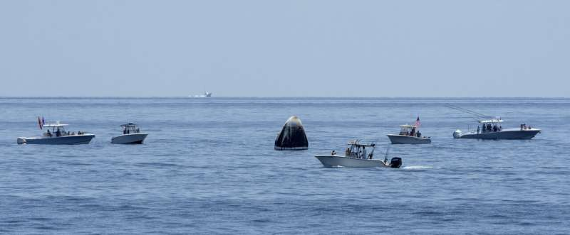 More patrols, fewer boaters for SpaceX splashdown Saturday