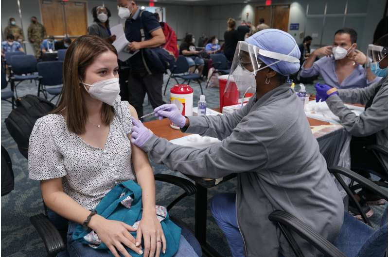More states ease lingering virus rules as vaccine rates rise
