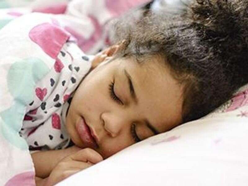 More than one-third of children sleep less than recommended