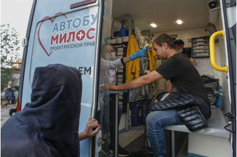 Moscow reports surge in deaths last month due to coronavirus