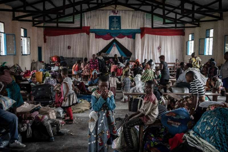Most people have headed for Sake, around 25 kilometres (15 miles) west of Goma, and for the Rwandan border, in the northeast