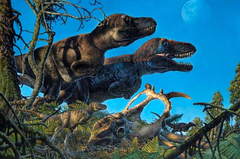 Multiple dinosaur species not only lived in the Arctic, they also nested there