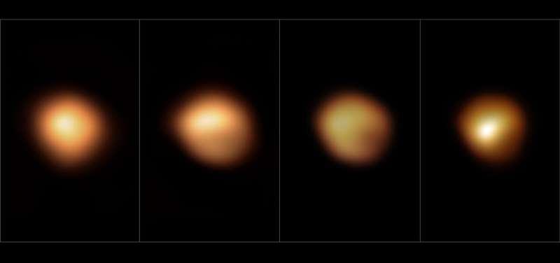 Mystery of Betelgeuse's dip in brightness solved