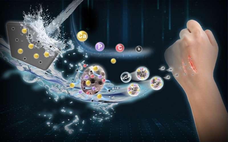 Nano-scale borate bioactive glass: Next generation material for skin-healing