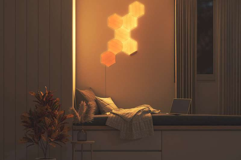 Nanoleaf develops classy lighting with a wood-like finish for your home
