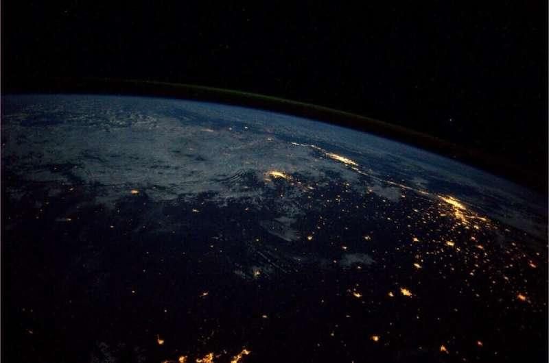 NASA image of Rio de Janiero and Sao Paulo from 2013