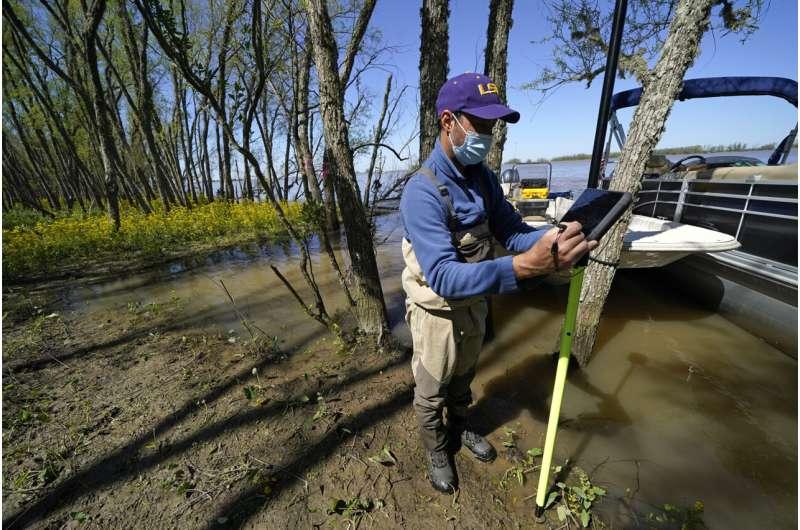NASA looks at Louisiana delta system, eyes global forecasts