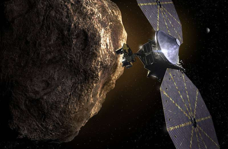 NASA Lucy mission's message to the future Nasa-lucy-missions-mes