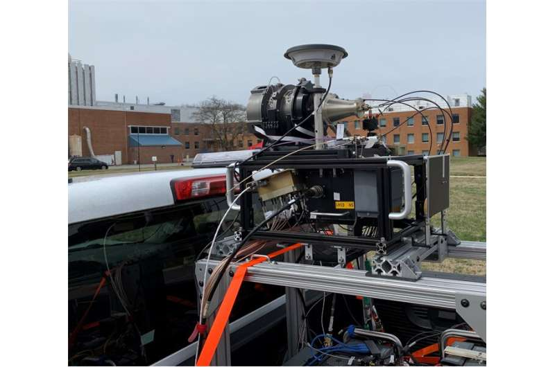 NASA performs field test of 3D imaging system for descent and landing