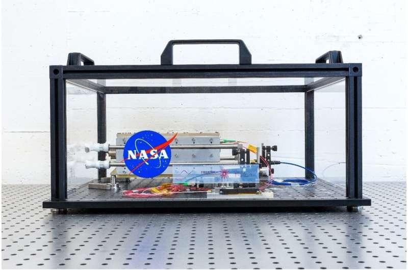 NASA provides laser for LISA mission