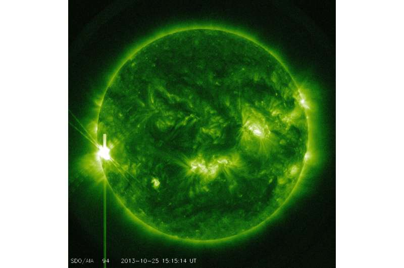 NASA rocket chasing the source of the sun's hot atmosphere