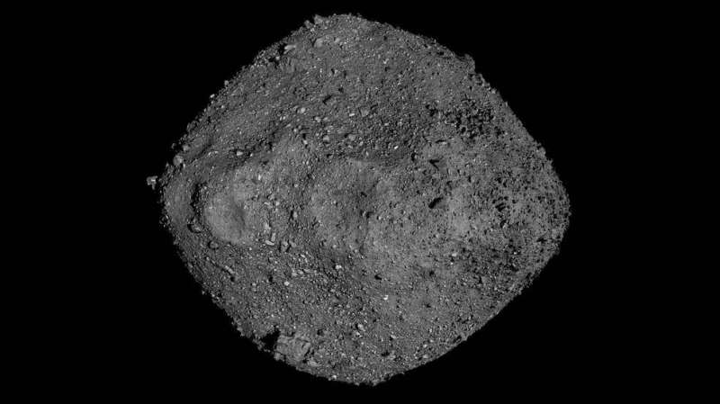 OSIRIS-REx spacecraft provides insight into asteroid Bennu's future orbit Nasa-spacecraft-provid
